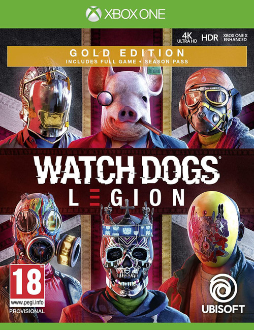 Watch Dogs Legion - Gold Edition Xbox One Game