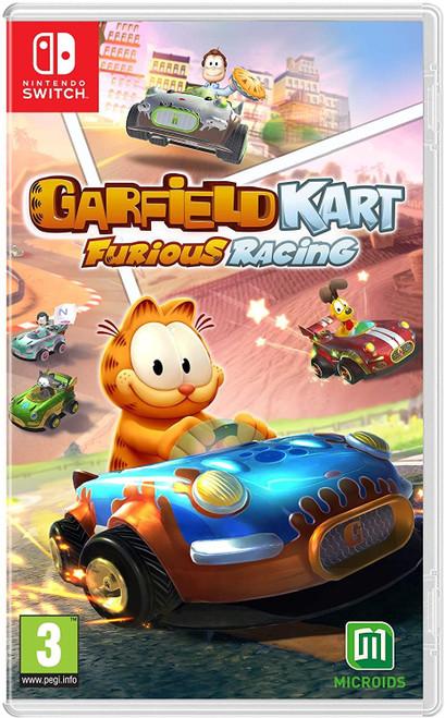 Garfield Kart Furious Racing Switch Game