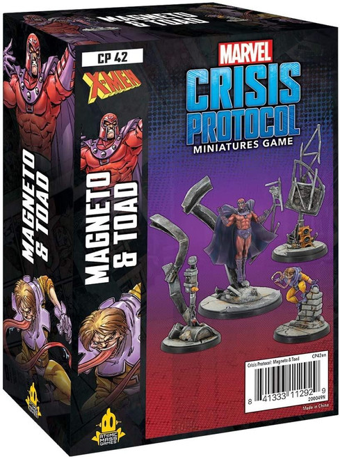 Mageneto and Toad Marvel Crisis Protocol