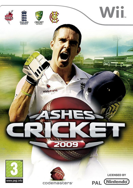 Ashes Cricket 09 Nintendo Wii Game