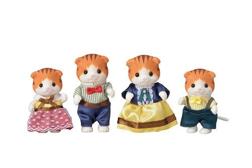 Sylvanian Families 5290 Maple Cat Family Figure Set