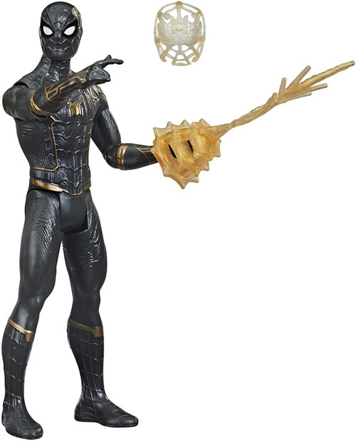 Spiderman 3 Movie 6in Basic Figure Black Suit Spidey Toy