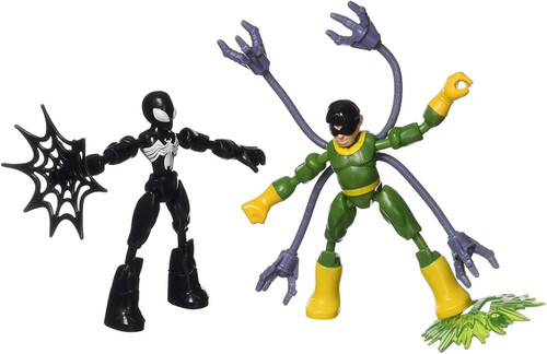 Spider-man Bend and Flex Vs Doc Ock Action Figure Kids Toy