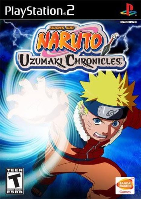 Naruto Uzumaki Chronicles PS2 Game