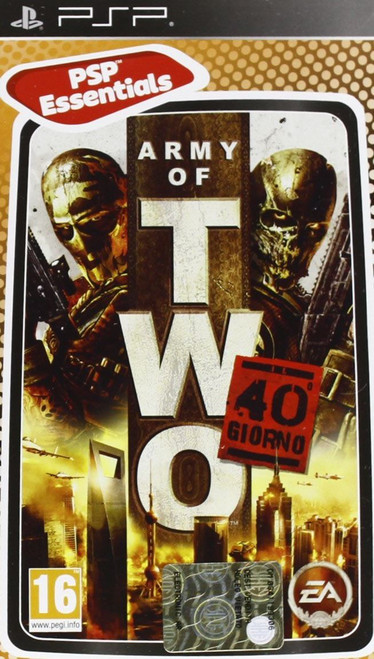 Army Of Two The 40th Day Essentials Edition Sony PSP Game