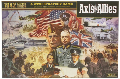 Axis and Allies 1942 Second Edition Board Game