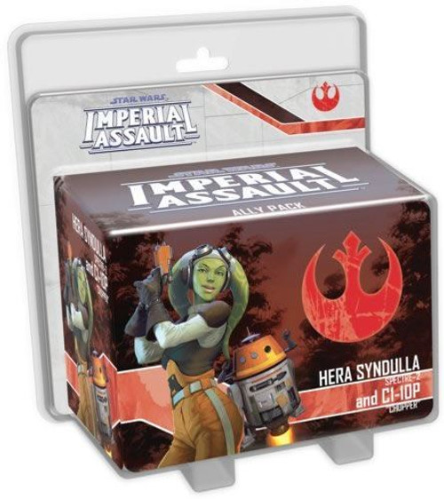 Star Wars Imperial Assault Hera Syndulla and C1-10P Ally Pack