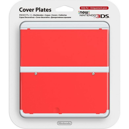 Nintendo Official Cover Plate for New 3DS Red
