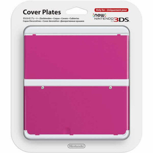 New Nintendo 3DS Cover Plate Pink
