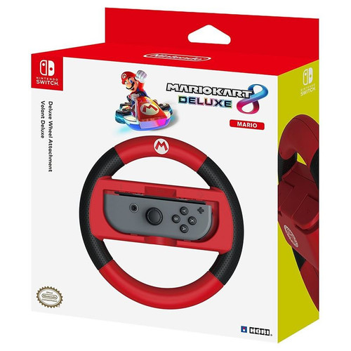 HORI Nintendo Switch Mario Kart 8 Deluxe Wheel Mario Version