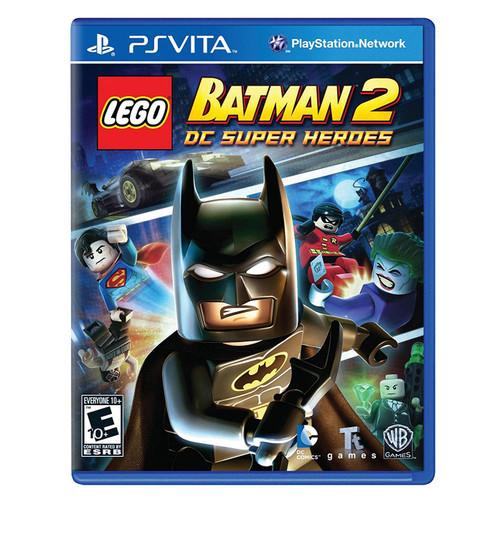 LEGO Batman 2 DC Super Heroes PlayStation Vita Game