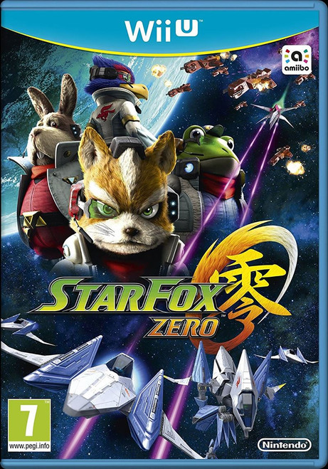 Star Fox Zero Nintendo Wii U Video Game