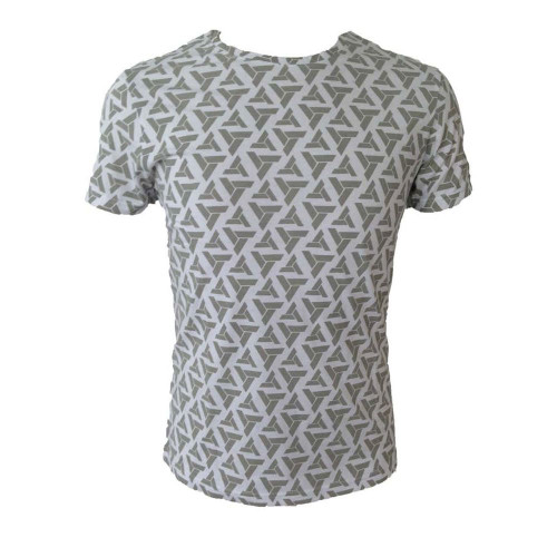 Assassin's Creed Adult Male Abstergo Logo All-Over Print T-Shirt Small Grey (TS090603ASC-S)