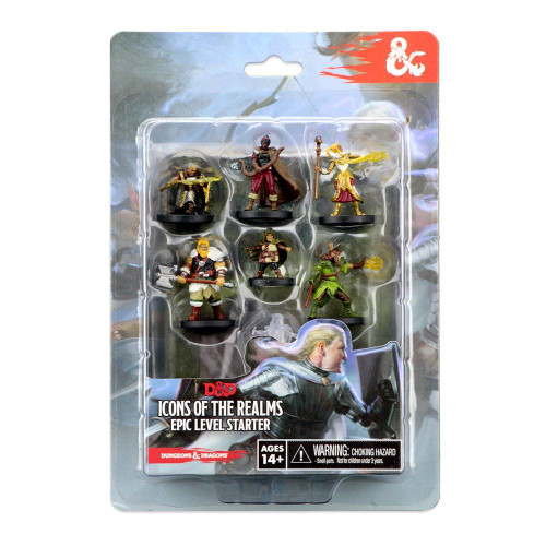 WizKids D&D Icons of The Realms Miniatures Epic Level Starter Board Game