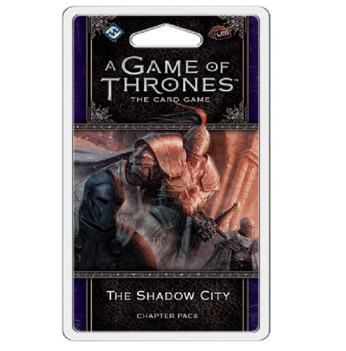 A Game of Thrones LCG The Shadow City Chapter Pack Card Deck Game