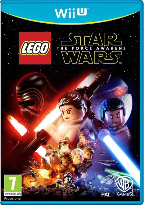 Lego Star Wars The Force Awakens Nintendo Wii U Game
