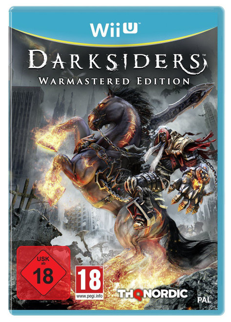 Darksiders - Warmastered Edition Wii-U Game (German Box)