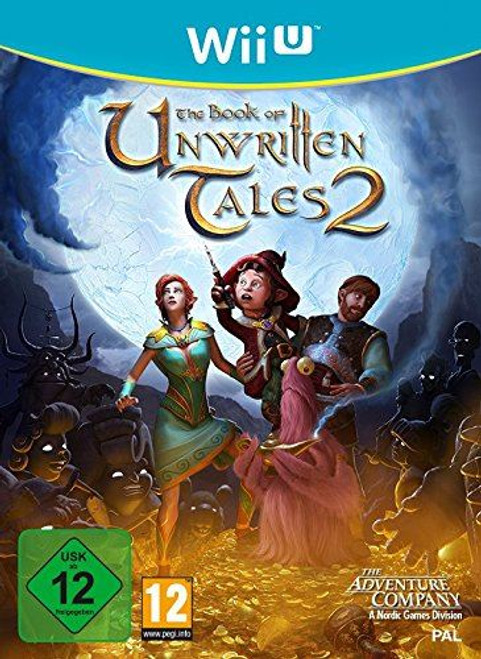 The Book Of Unwritten Tales 2 Wii-U Game (German Box)