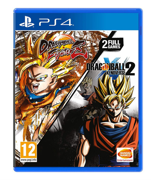 Dragon Ball FighterZ And Dragon Ball Xenoverse 2 Double Pack PS4 Game