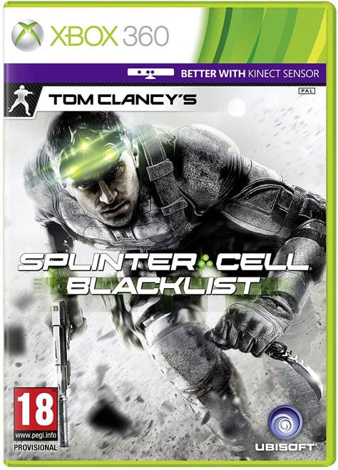 Tom Clancy's Splinter Cell Blacklist Xbox 360 Game