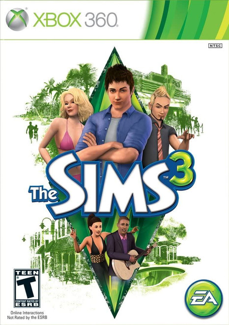 The Sims 3 Xbox 360 Game