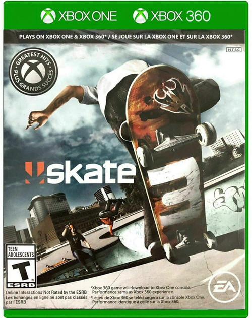 Skate 3 Xbox 360 Game (Xbox One Compatible)