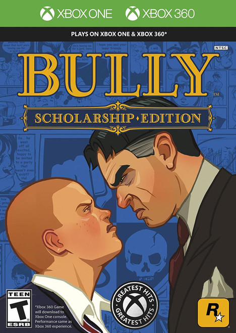 Bully Scholarship Edition Xbox 360 Game (Xbox One Compatible)