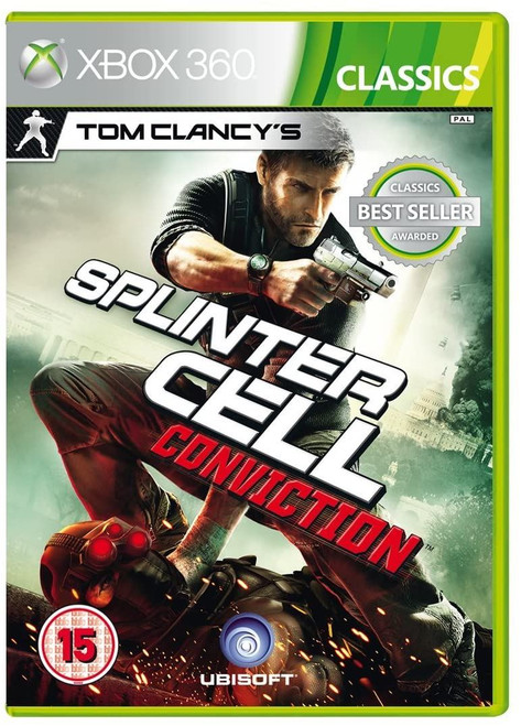 Tom Clancy's Splinter Cell Conviction Classics Xbox 360 Game