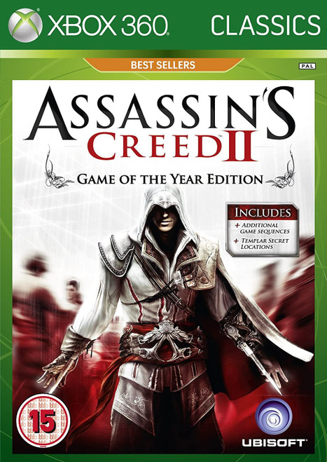 Assassin's Creed II GOTY Edition Classics Xbox 360 Game
