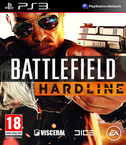 Battlefield Hardline PS3 Game (French/Dutch Box - Multi Language In Game)