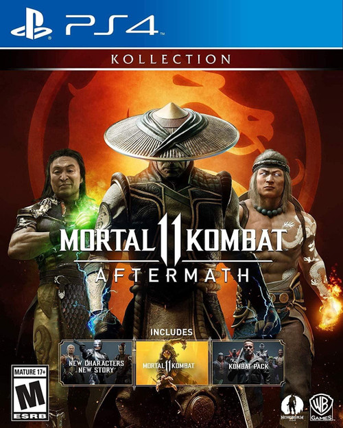 Mortal Kombat 11 Aftermath Kollection PS4 Game