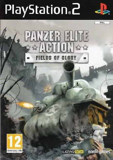 Panzer Elite Action PS2 Game (Deleted Title)