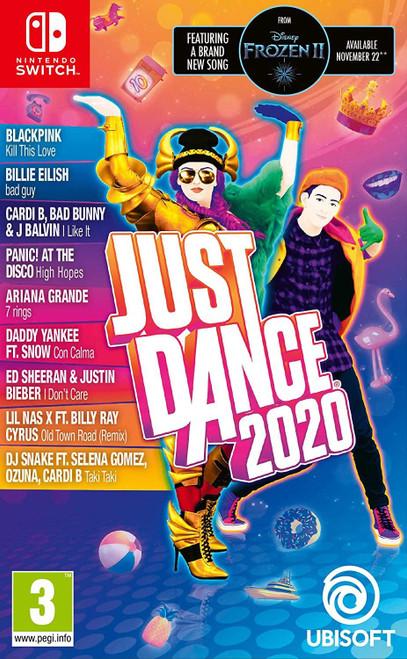 Just Dance 2020 Nintendo Switch Game (English/Nordic Box)