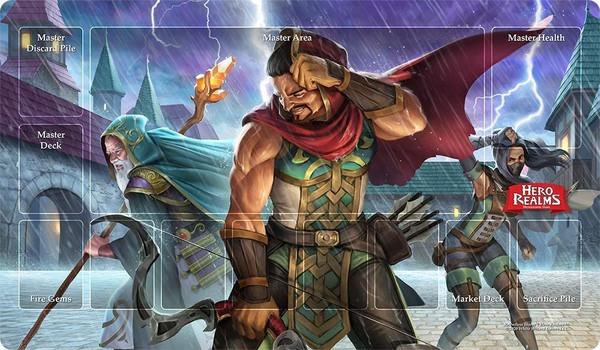 Hero Realms Relentless Storm Playmat