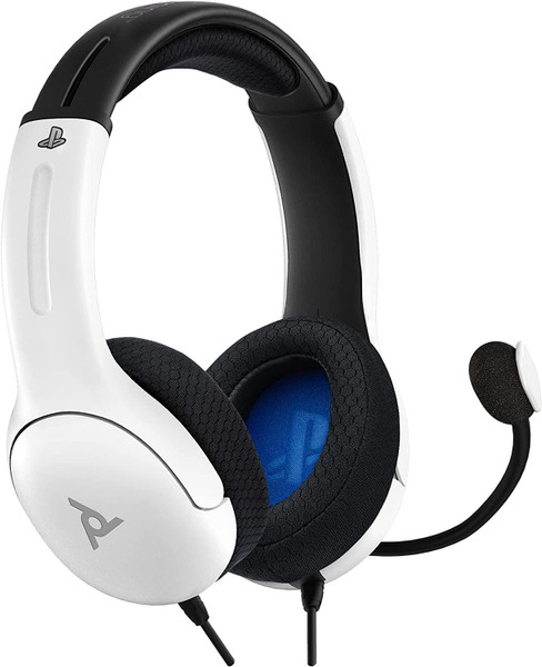 PDP LVL40 Wired Stereo Headset For PS4 - White