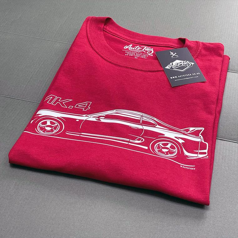 AUTOTEES DESIGN T-SHIRT FOR TOYOTA SUPRA MK4 CAR ENTHUSIASTS (v2)