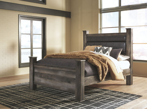 Ashley Jerary Gray King Upholstered Bed Sold At Elite Furniture Proudly Serving Wichita Falls Tx And Lawton Ok