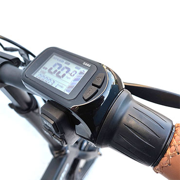 LCD Display with Twist Throttle