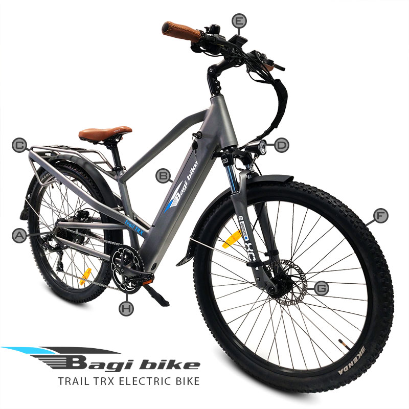 BagiBike B27 Premium Electric Bicycle