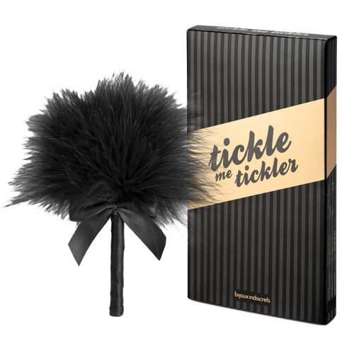 Petits Bon Bon Black Tickle Me Feather Tickler by Bijoux Indiscrets