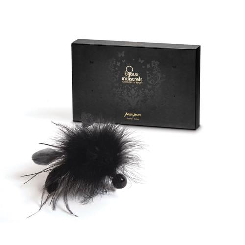 Pom Pom Black Feather Tickler by Bijoux Indiscrets