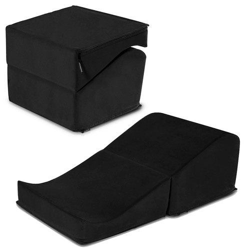 Flip Ramp Positioning Pillow by Liberator-Black