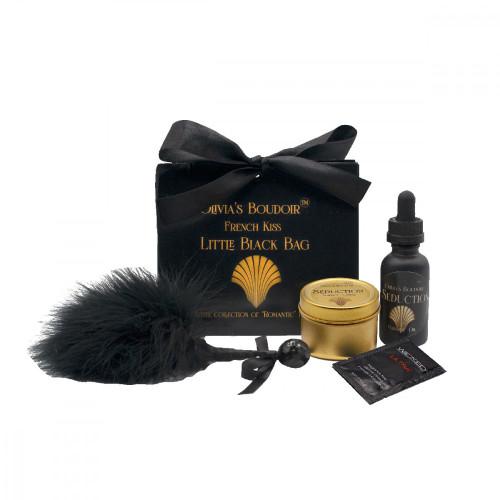 Little Black Bag Romance Kit by Olivia's Boudoir-French Kiss
