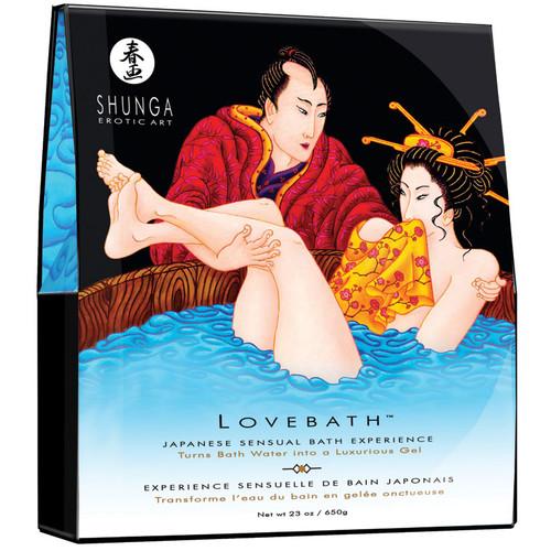 LoveBath Gel Bath by Shunga Erotic Art-Ocean Temptation