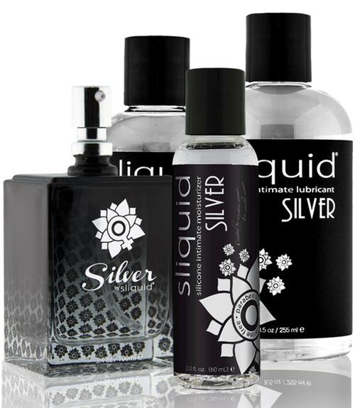 Sliquid-Naturals Silver Silicone Intimate Lubricant