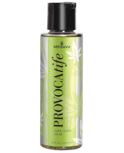 Provocatife Hemp Oil and Pheromone Infused Massage Oil by Sensuva