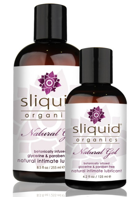Organics Natural Water Based Lubricating Gel by Sliquid