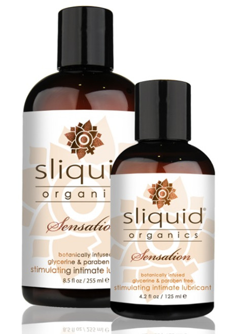 Organics Sensation Stimulating Lubricant by Sliquid