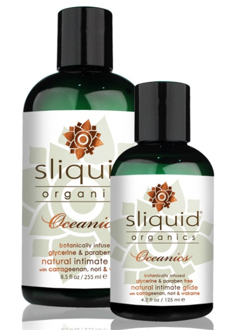 Organics Oceanics Natural Water Based Lubricant by Sliquid