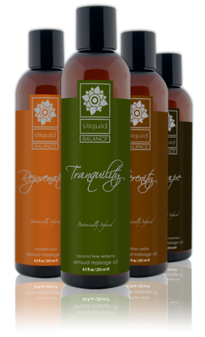 Sliquid Balance Natural Massage Oil